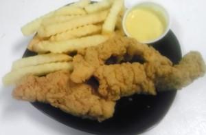 #9 3pc Chicken Strips, Fries & Drink $5.99