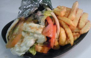 #1 Steak or Chicken (Philly or Wrap), Fries & Drink $6.99